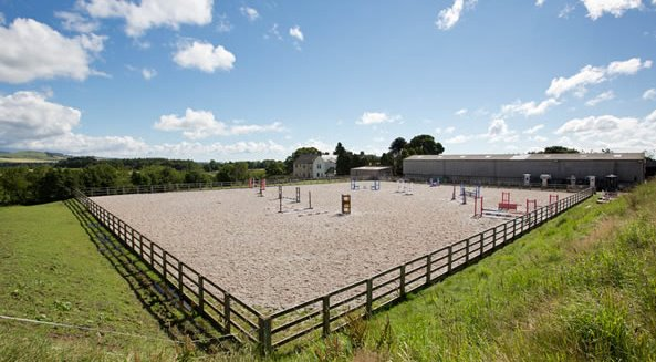 Auchlishie Equestrian show field - Angus Leader