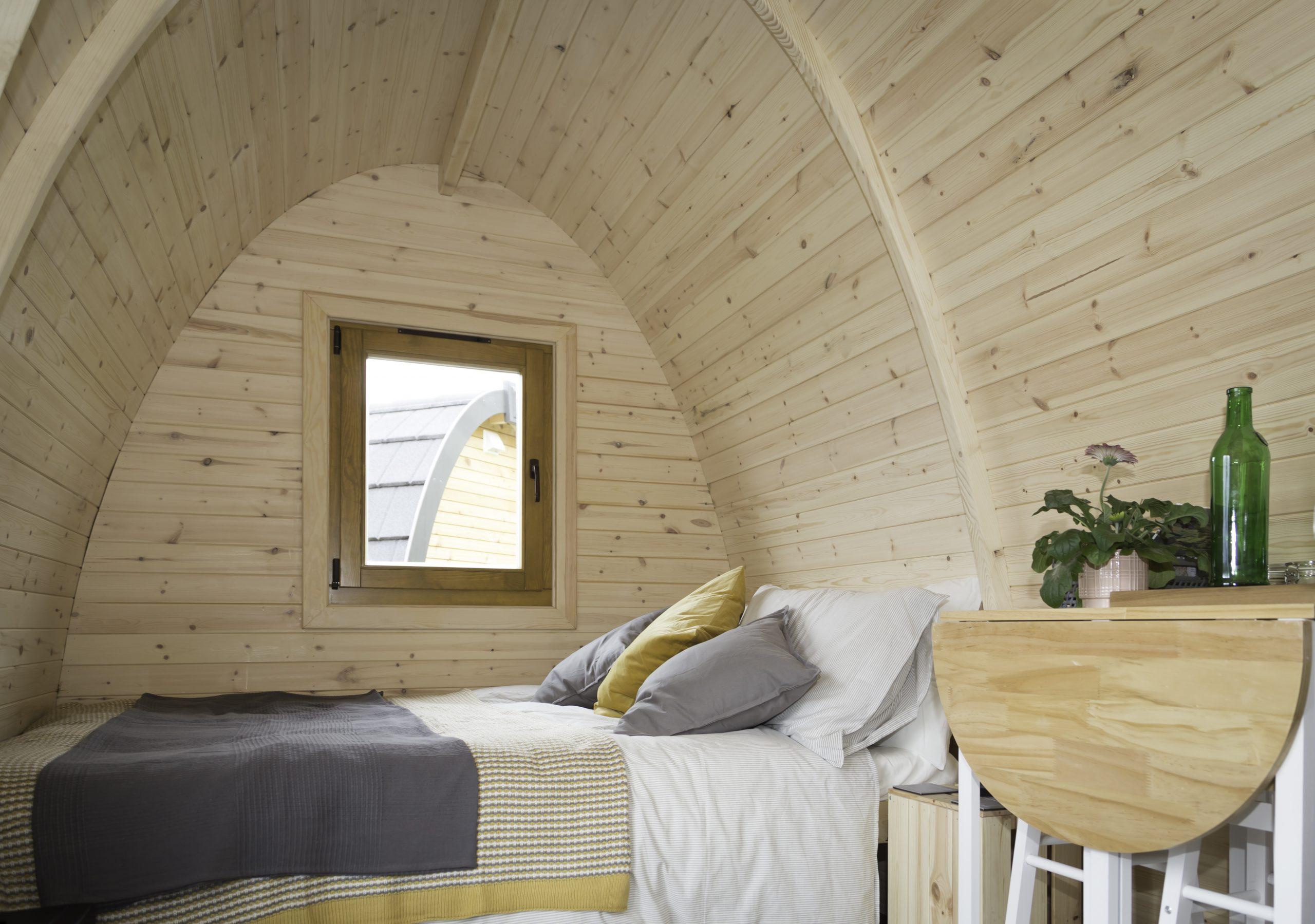 Inside Pod at Kilry
